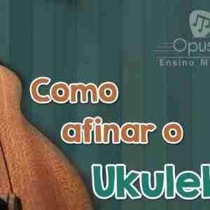 afinar ukulele