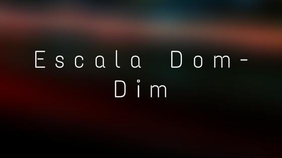 escala dominante diminuta